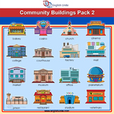 Clip Art - Community Buildings 2