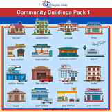 Clip Art - Community Buildings 1