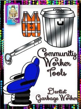 Clip Art~ Community Worker Tools