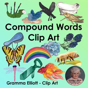 Compound Words Realistic Clip Art