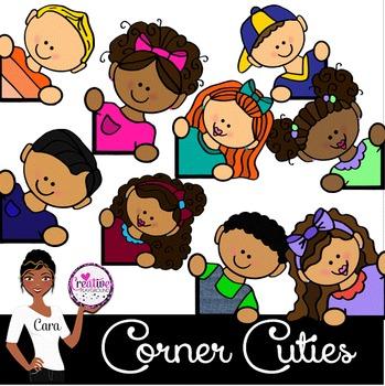 Clip Art~ Corner Cuties