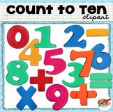 Clip Art: Count to Ten