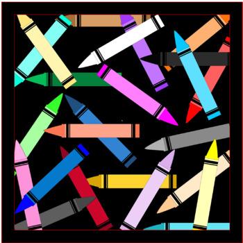 Clip Art - Crayons
