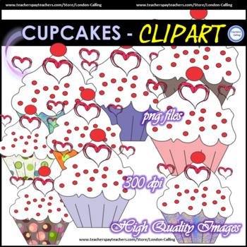 Cupcakes - VALENTINE'S DAY