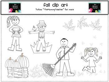 Clip Art - Cute Fall ClipArt