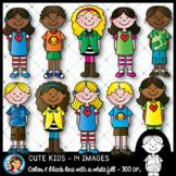 Cute Kids Clip Art