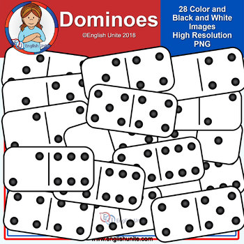 Clip Art - Dominoes