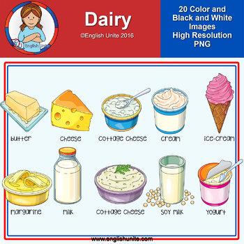Clip Art - Dairy