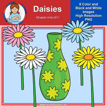 Clip Art - Daisies