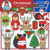 Clip Art - December Christmas Freebie