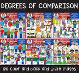 Clip Art - Degrees of Comparison Mega Bundle