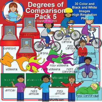 Clip Art - Degrees of Comparison Pack 5