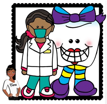 Clip Art~ Dental Health 2  (Teeth and Dentists)