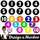 Clip Art~ Design a Number