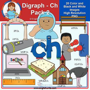Clip Art - Digraph Ch Pack 2