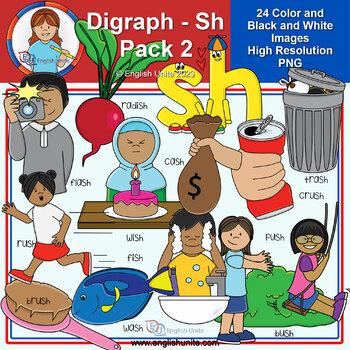 Clip Art - Digraph Sh Pack 2