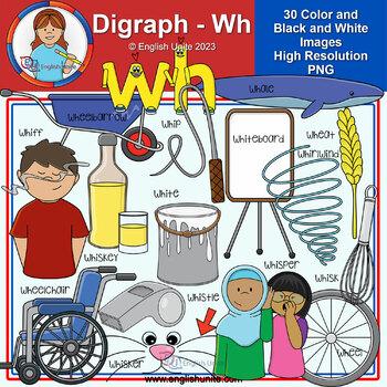 Clip Art - Digraph Wh