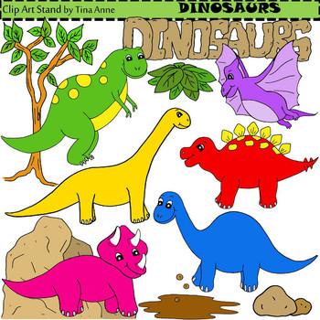 Clip Art Dinosaurs
