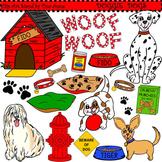 Clip Art Doggie Dogs