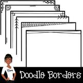 Clip Art~ Doodle Borders 1