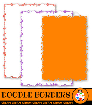 Clip Art Doodle Borders