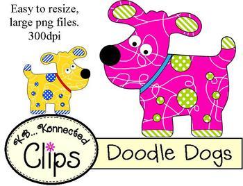 Clip Art ~ Doodle Dogs!