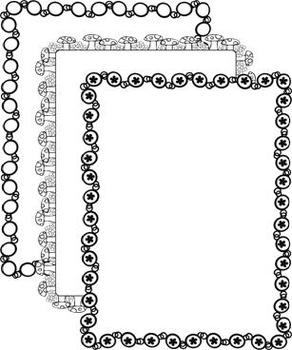 Clip Art - Doodle Frames 4 - Freebie in Preview!