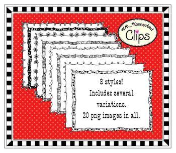 Clip Art - Doodle Frames 5