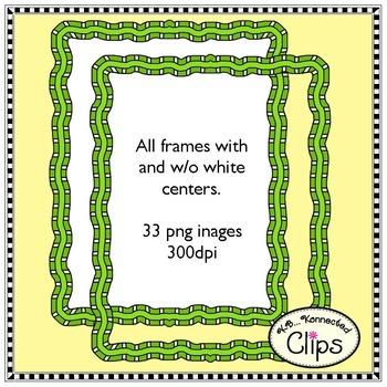 Clip Art - Double Dutch Frames