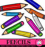 Clip Art Doodle Drawing Pencils