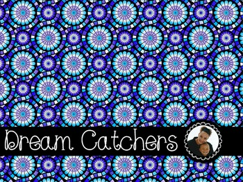 Clip Art~ Dream Catchers Digital Paper Collection