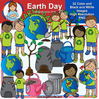 Clip Art - Earth Day
