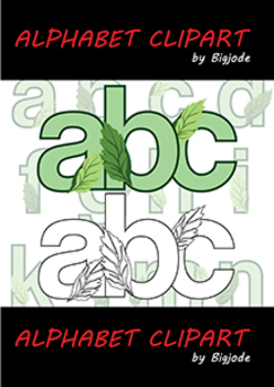 Clip Art - Earth Day Alphabet Set2