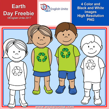 Clip Art - Earth Day Freebie