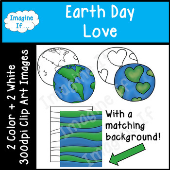Clip Art-Earth Day Love