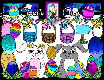 Clip Art~ Easter Egg Hunt