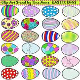 Clip Art Easter Eggs