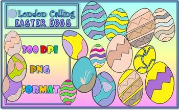 Clip Art - Easter Eggs