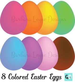Easter Eggs Clipart, Eggs Clip Art