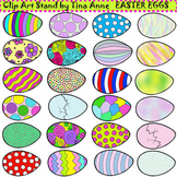 Clip Art Easter Eggs