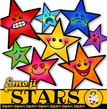 Clip Art Emoticon Stars