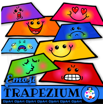 Clip Art Emoticon Trapezium Shapes