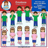 Clip Art - Emotions
