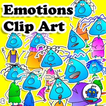 Clip Art Emotions and Feelings
