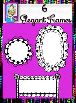 Clip Art Essentials~Elegant Frames