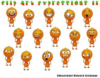 Clip Art Expressions II