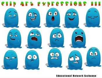 Clip Art Expressions III