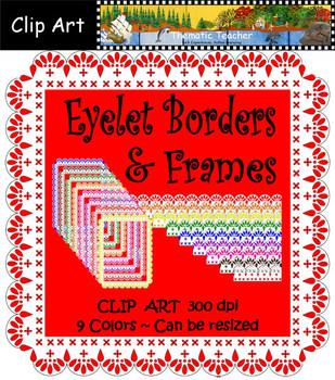 Clip Art Eyelet Borders & Frames