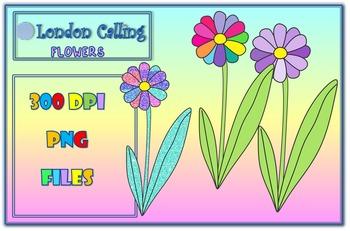 Clip Art- FLOWERS