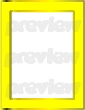 Clip Art - FRAMES #3